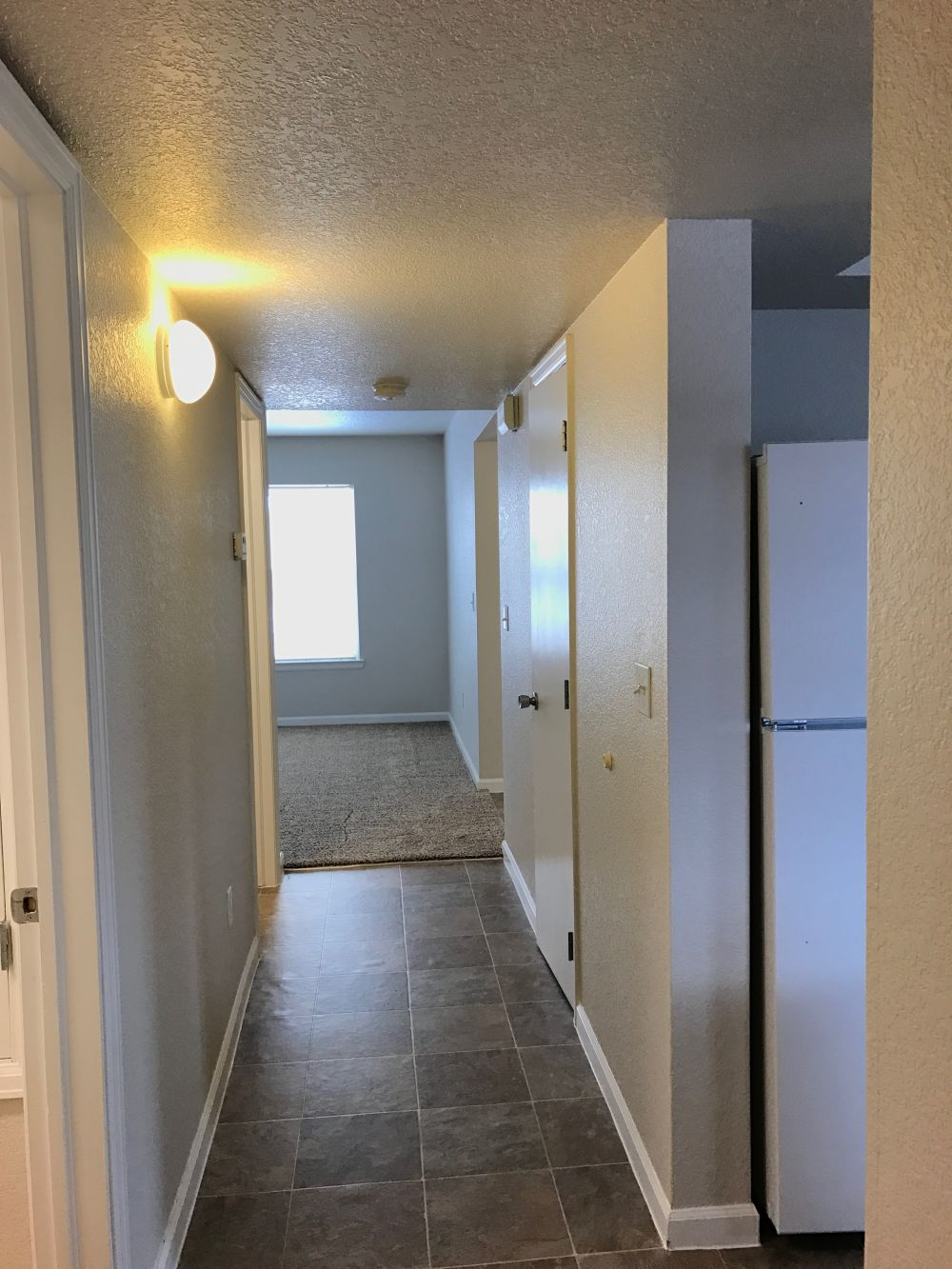 Hall to Kitchen/Laundry